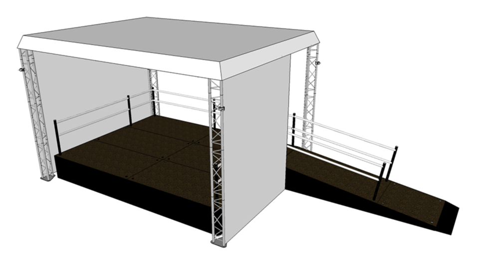 Stage 1 with accessinility ramp
